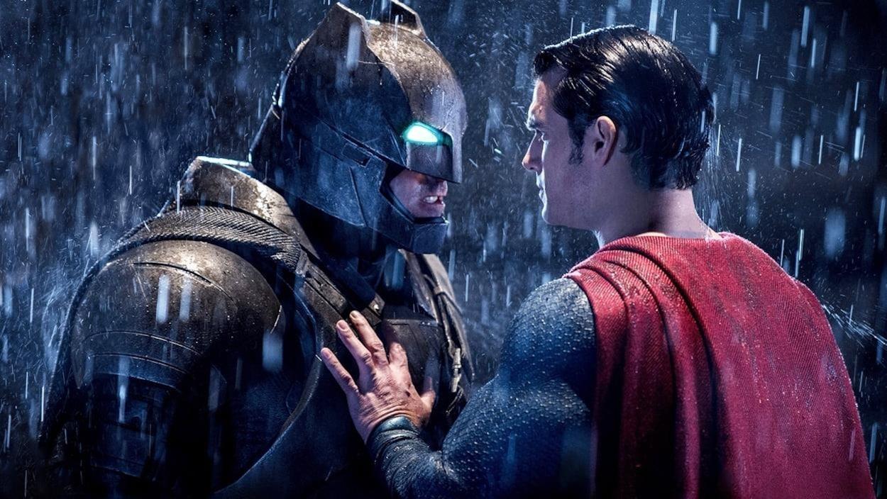 Ben Affleck et Henry Cavill dans « Batman vs Superman : l'aube de la justice »