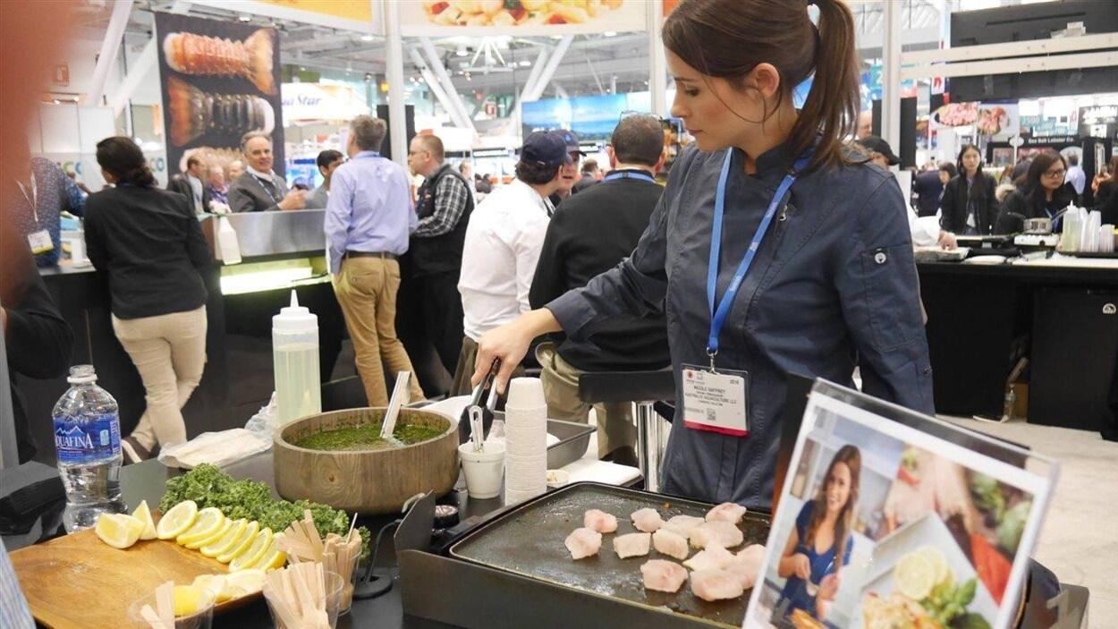 Seafood Expo à Boston