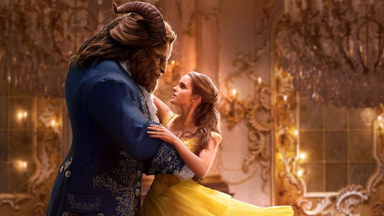 Une scène du film « La belle et la bête »