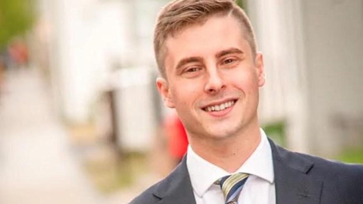 Ben Levitt candidat du Parti progressiste-conservateur dans Hamilton Ouest-Ancaster-Dundas