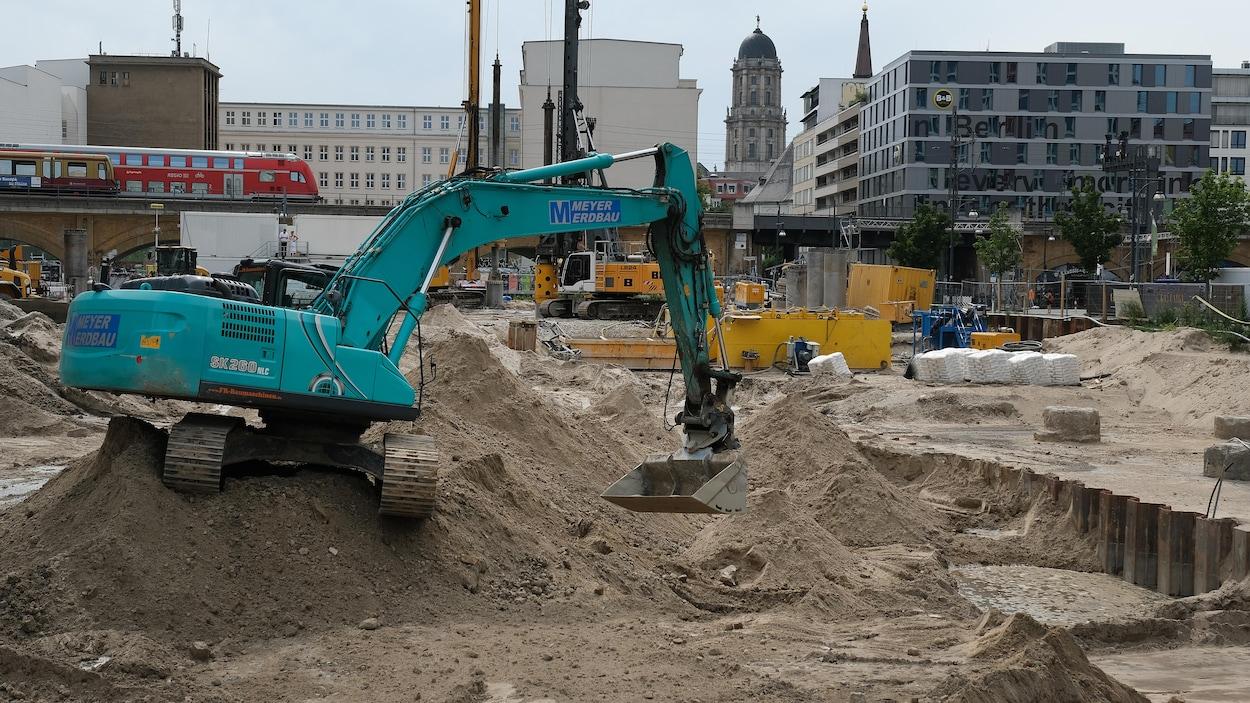 Une bombe américaine trouvée au coeur de Berlin dans un chantier de construction, le secteur a été évacué.