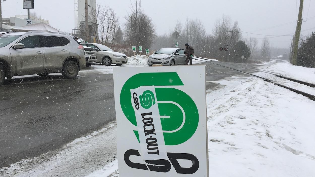 Béton Provincial de Sherbrooke a décrété un lock-out lundi.