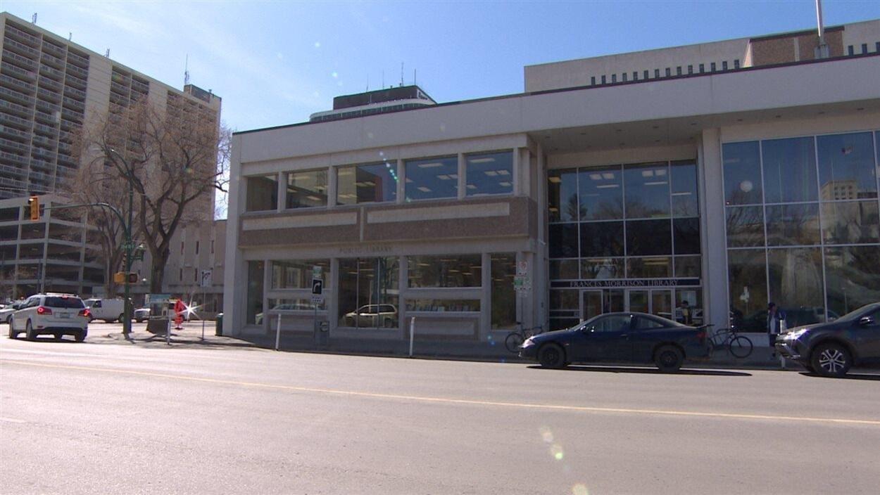 La bibliothèque publique Frances-Morrison, au centre-ville de Saskatoon.