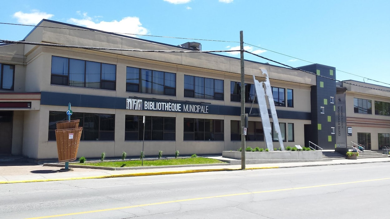 La bibliothèque municipale et le Centre d'exposition de Rouyn-Noranda