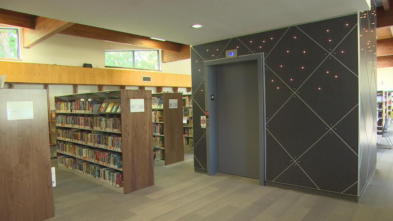La bibliothèque de Saint-Vital a rouvert ses portes lundi 28 mai 2018.