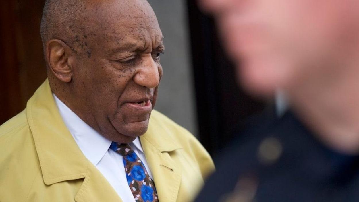 Portrait de profil de Bill Cosby.