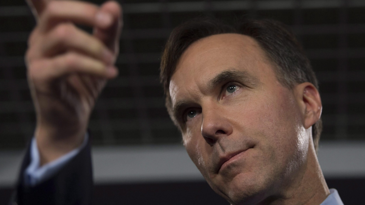 Le ministre des Finances, Bill Morneau