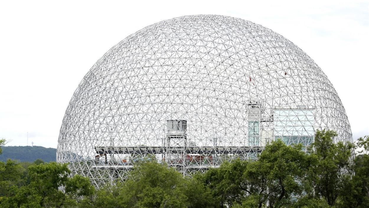 La Biosphère de Montréal.