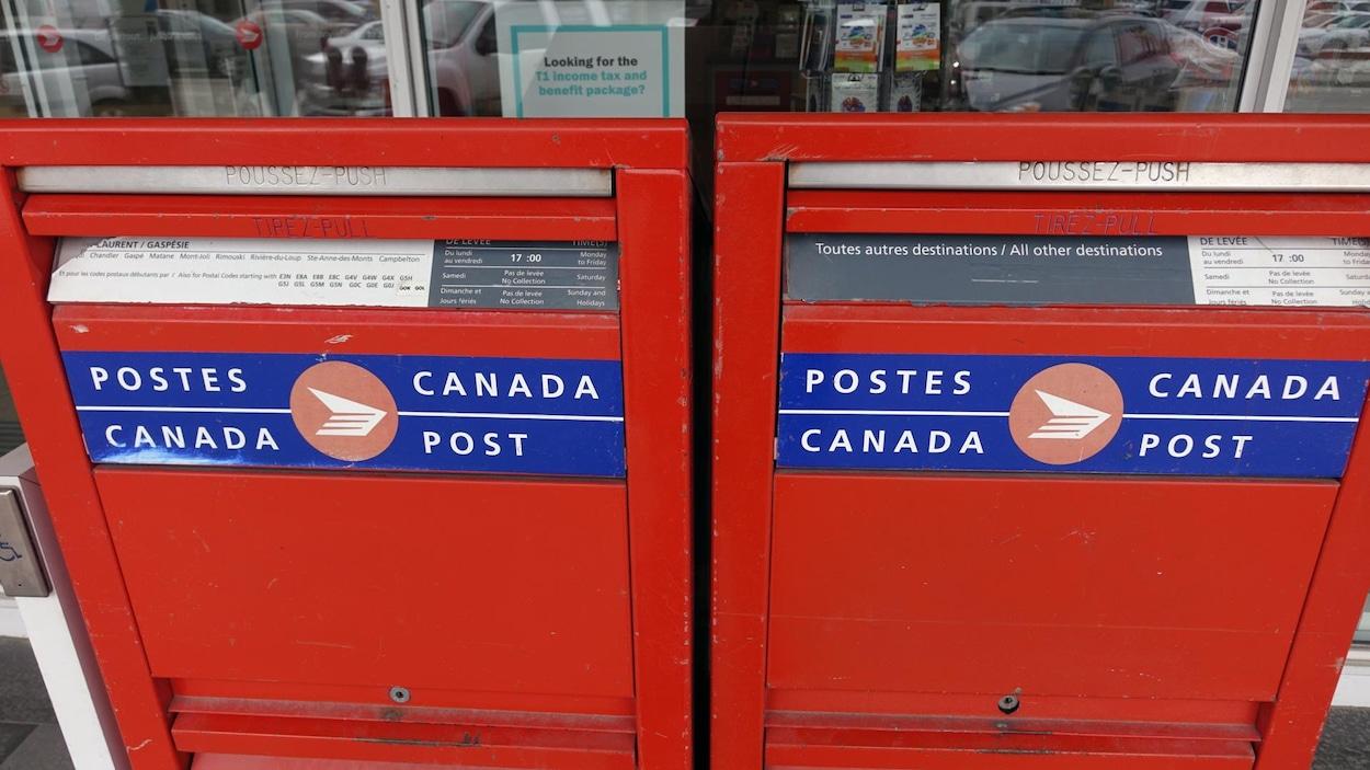 Postes Canada en grève à Montréal