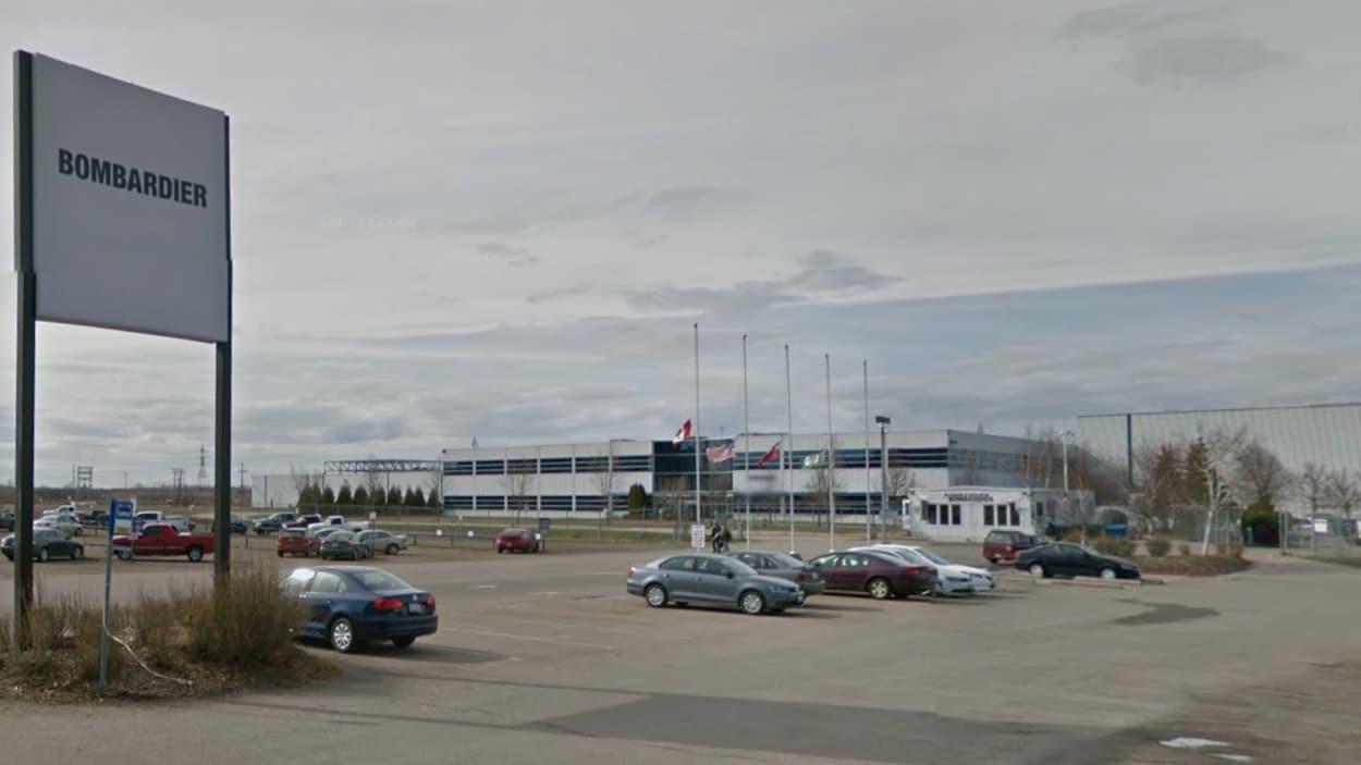 Extérieur de Bombardier à Thunder Bay