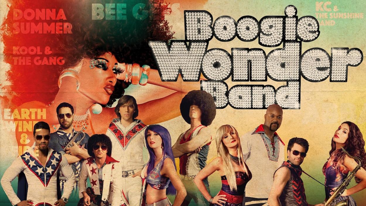 Affiche du groupe Boogie Wonder Band