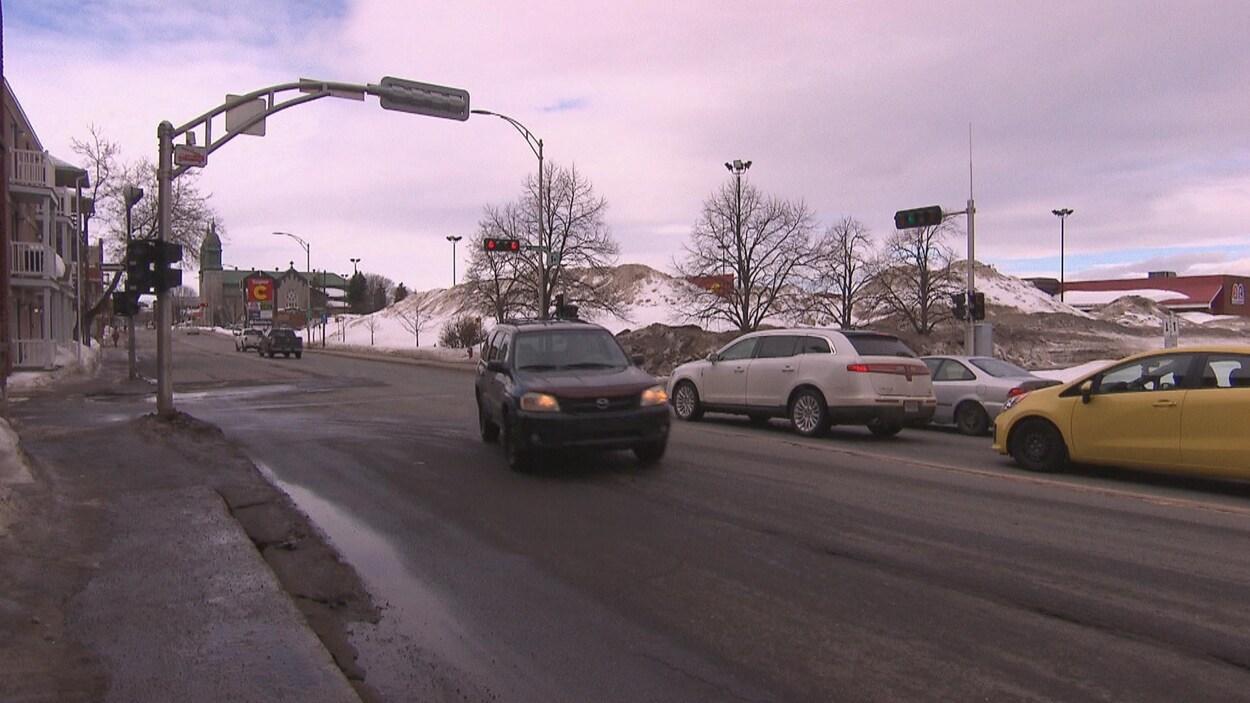 Le boulevard du Saint-Maurice à Trois-Rivières
