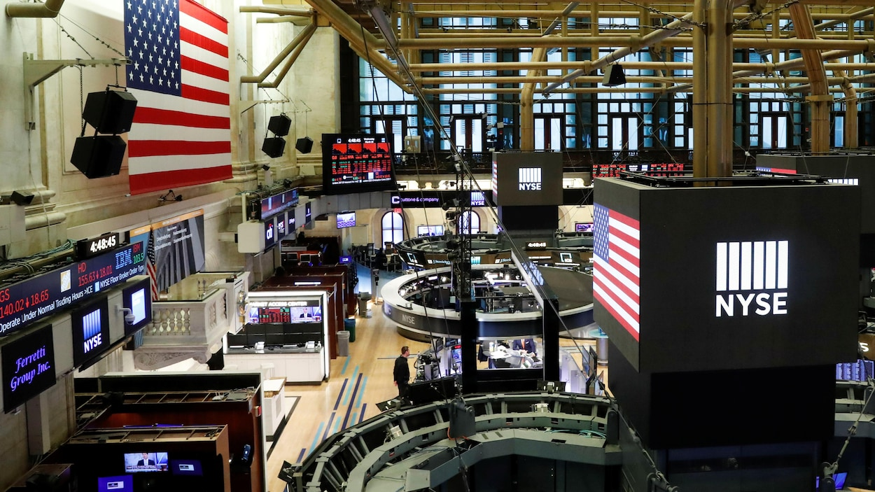 La Bourse de New York.