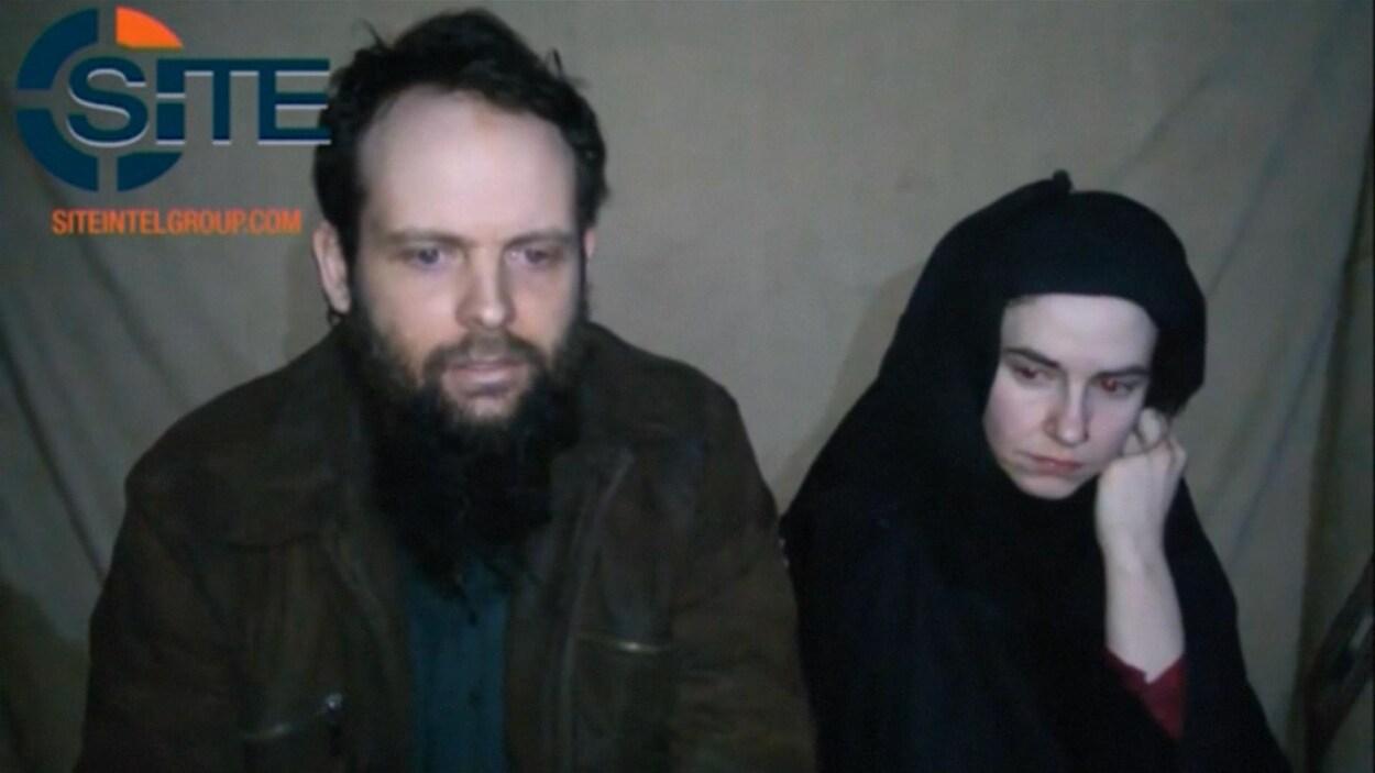 Le Canadien Joshua Boyle et l'Américaine Caitlan Coleman, détenus en Afghanistan depuis 2012
