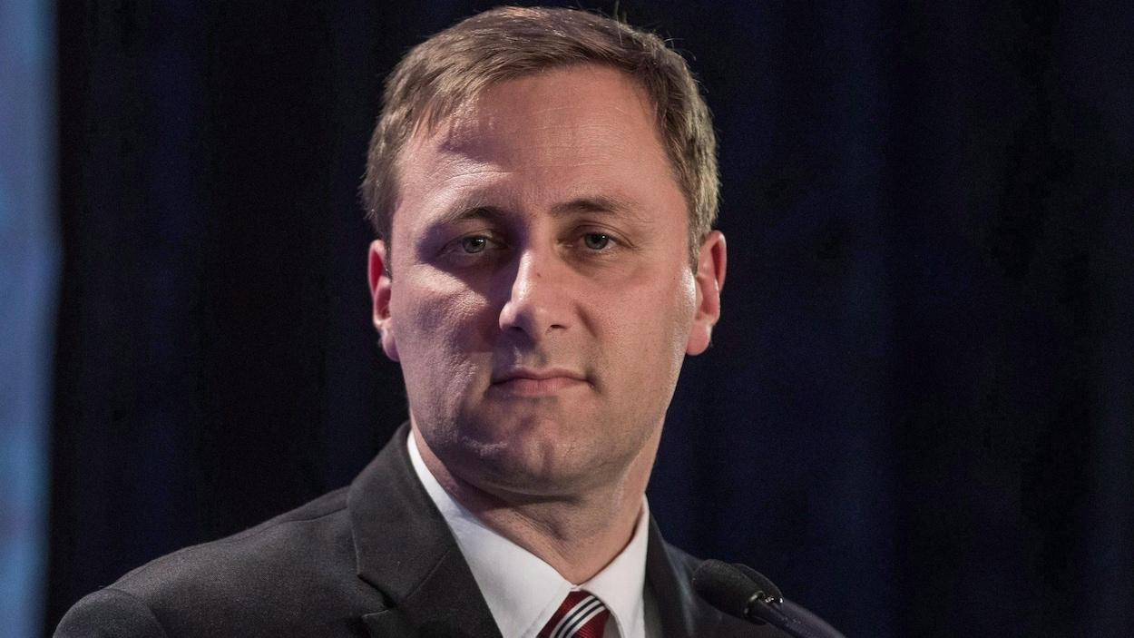 Le candidat à la course à la chefferie du Parti conservateur, Brad Trost.