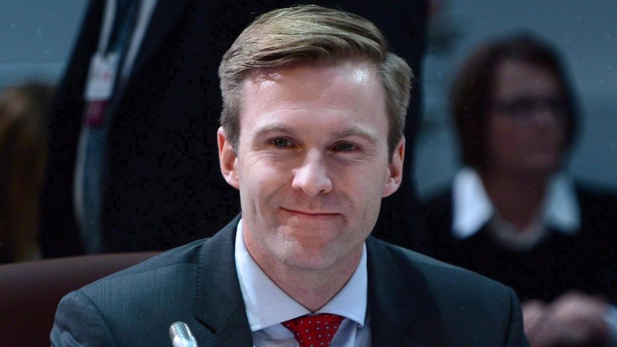 Le premier ministre du Nouveau-Brunswick Brian Gallant
