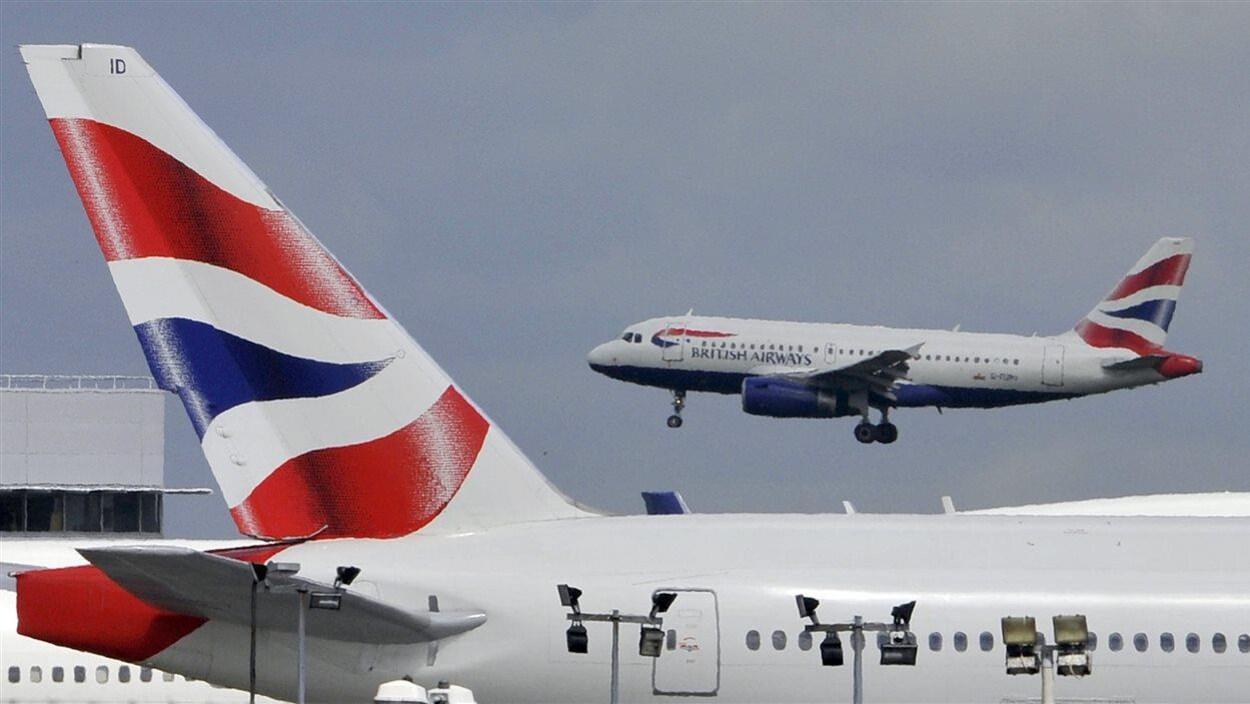 Des avions de British Airways.