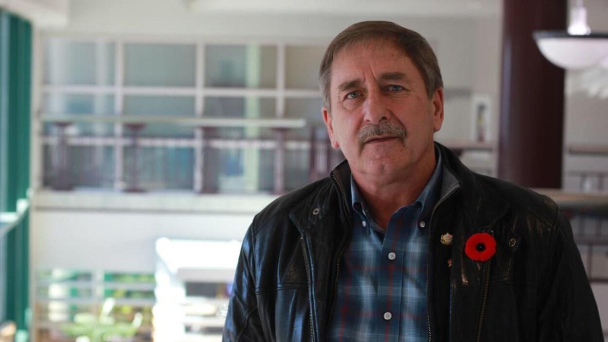 Bryan Bulter, conseiller municipal à la Ville de Moncton.