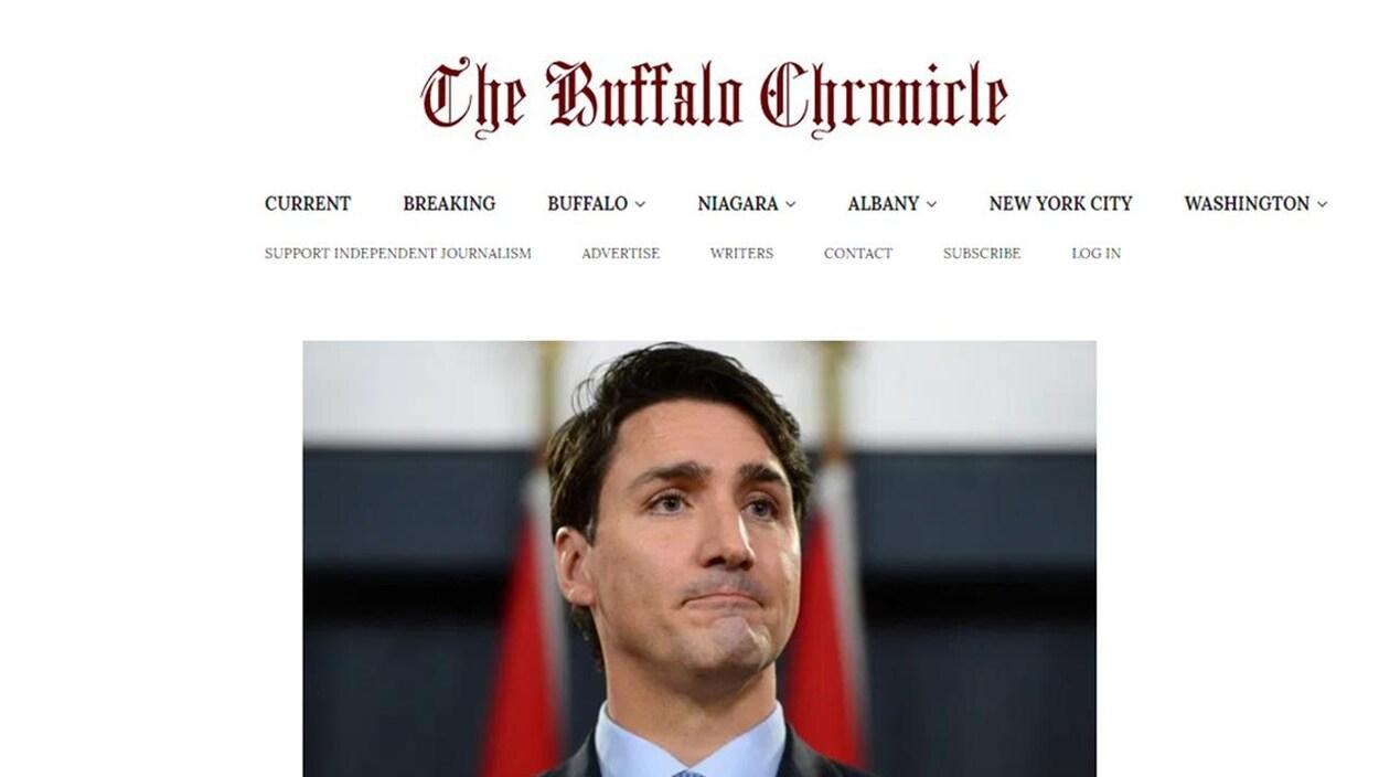 Il s'agit de la page principale du Buffalo.