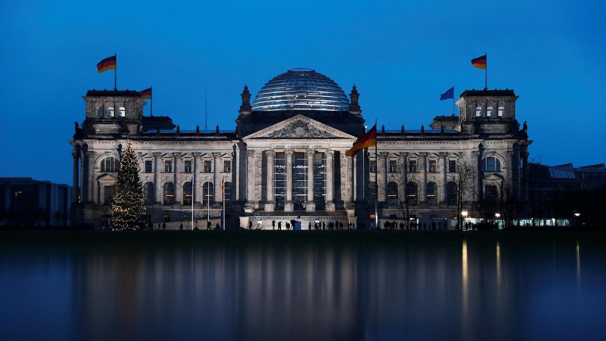 Le Bundestag, le parlement allemand