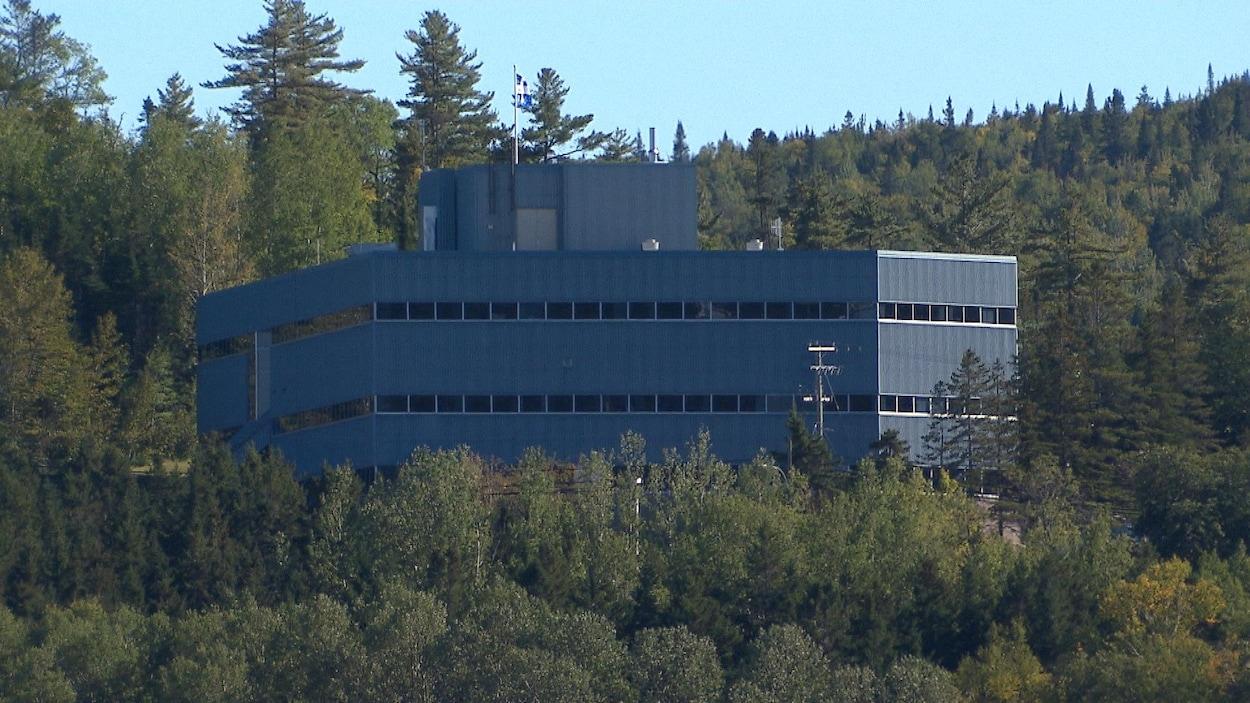 Bureaux  du ministère de l'Agriculture, des Pêcheries et de l'Alimentation à Gaspé.