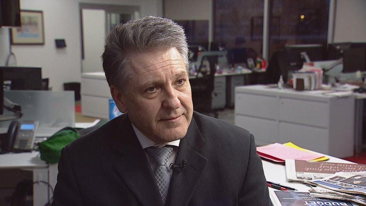 L'avocat Dale Fedorchuk au regard assertif.