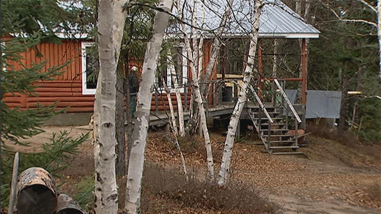 camp de chasse.