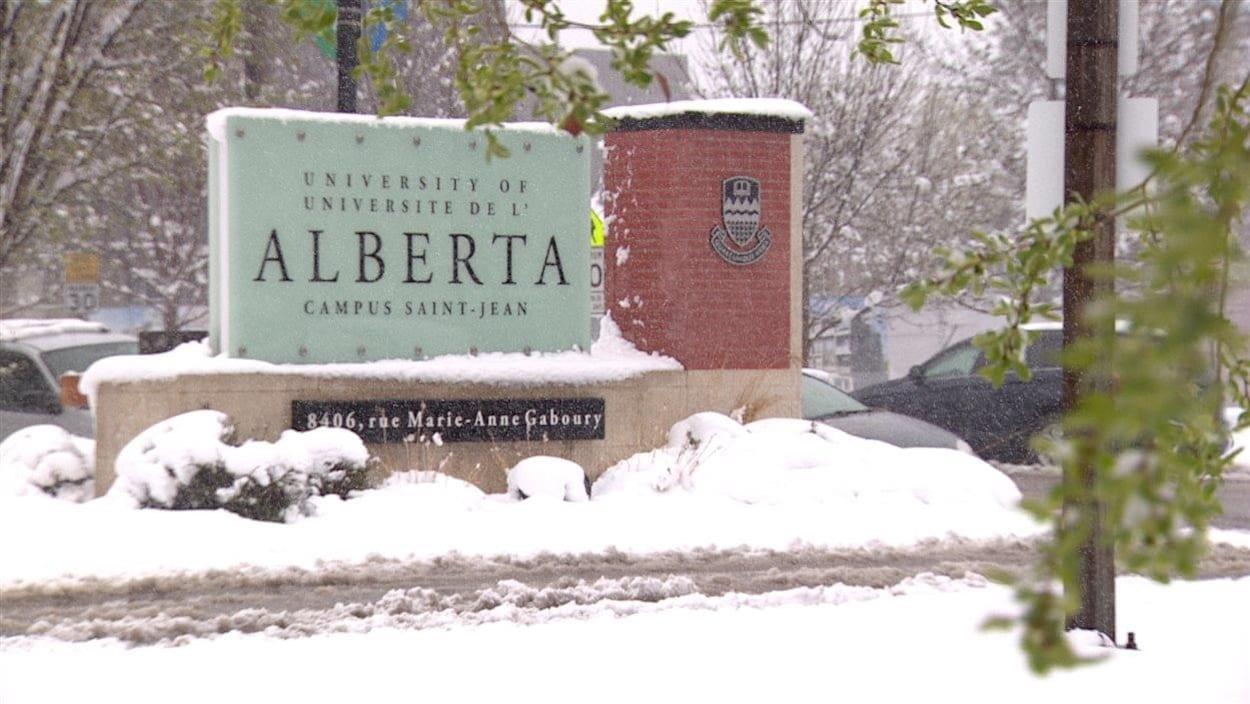 Le Campus Saint-Jean sous la neige