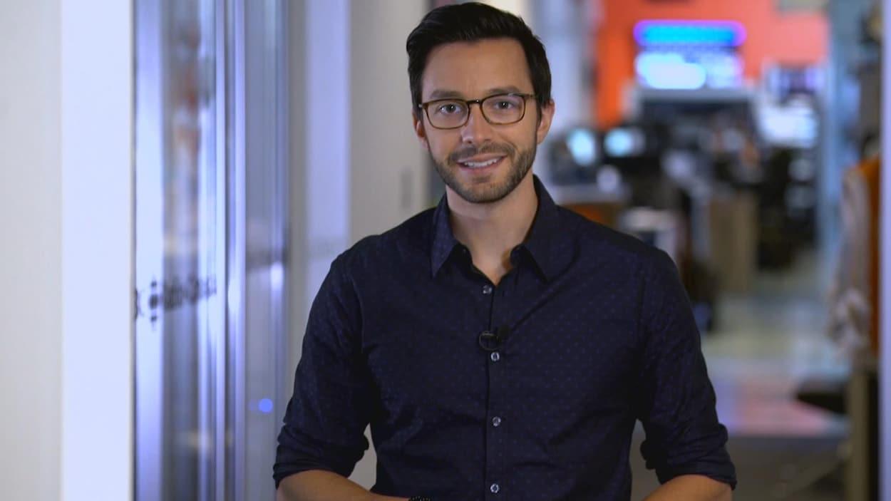 Mathieu Dion, correspondant parlementaire à Québec