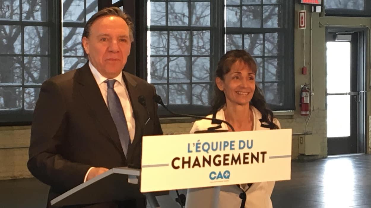 La présidente-directrice générale du Parc de l'Île-Melville, Marie-Louise Tardif, fait le saut en politique avec la Coalition avenir Québec (CAQ).