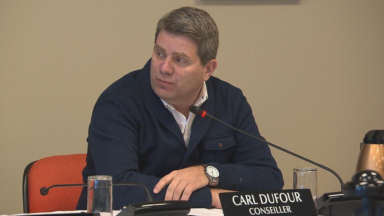 Le président de l'arrondissement de Jonquière, Carl Dufour.