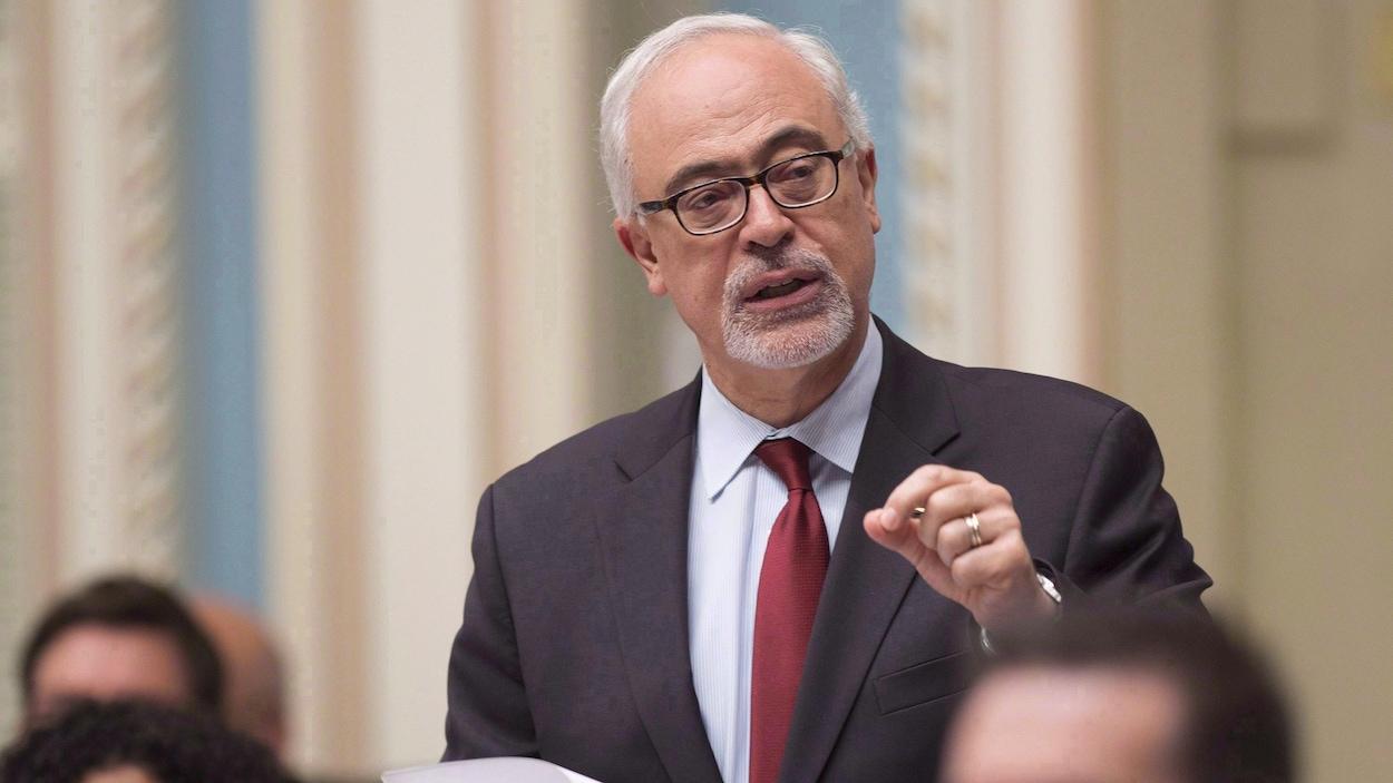 Carlos Leitao, ministre des Finances du Québec