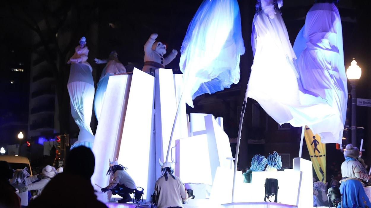 Le deuxième défilé du Carnaval de Québec a su corriger les failles du premier