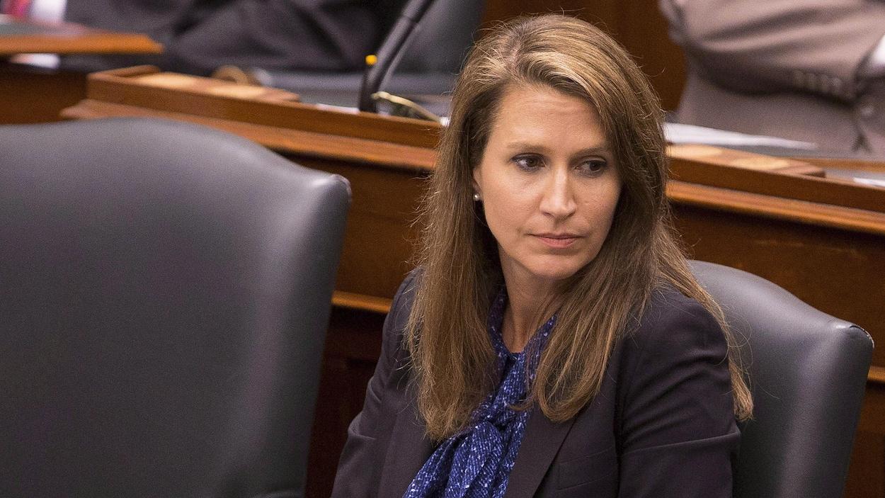 La ministre déléguée aux Affaires francophones, Caroline Mulroney, en Chambre