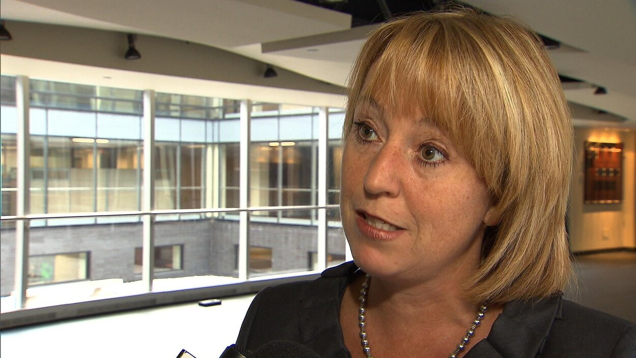Caroline St-Hilaire, mairesse de Longueuil, qui ne se représentera pas aux élections de 2017