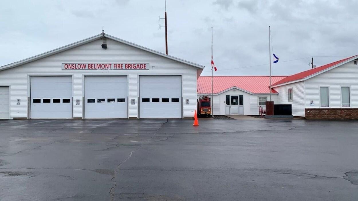La caserne de pompiers d'Onslow Belmont.