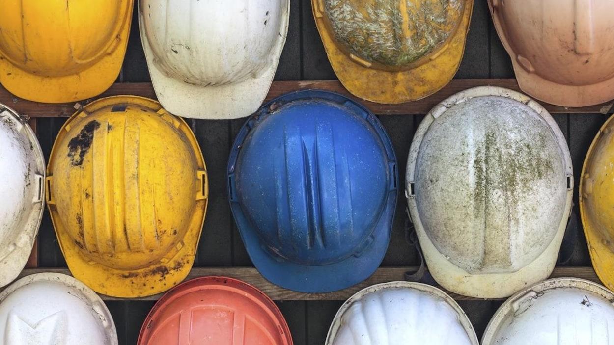 Casques de construction (image générique)