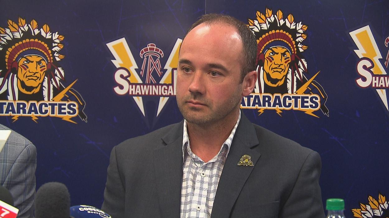 Daniel Renaud, l'entraîneur-chef de Cataractes de Shawinigan