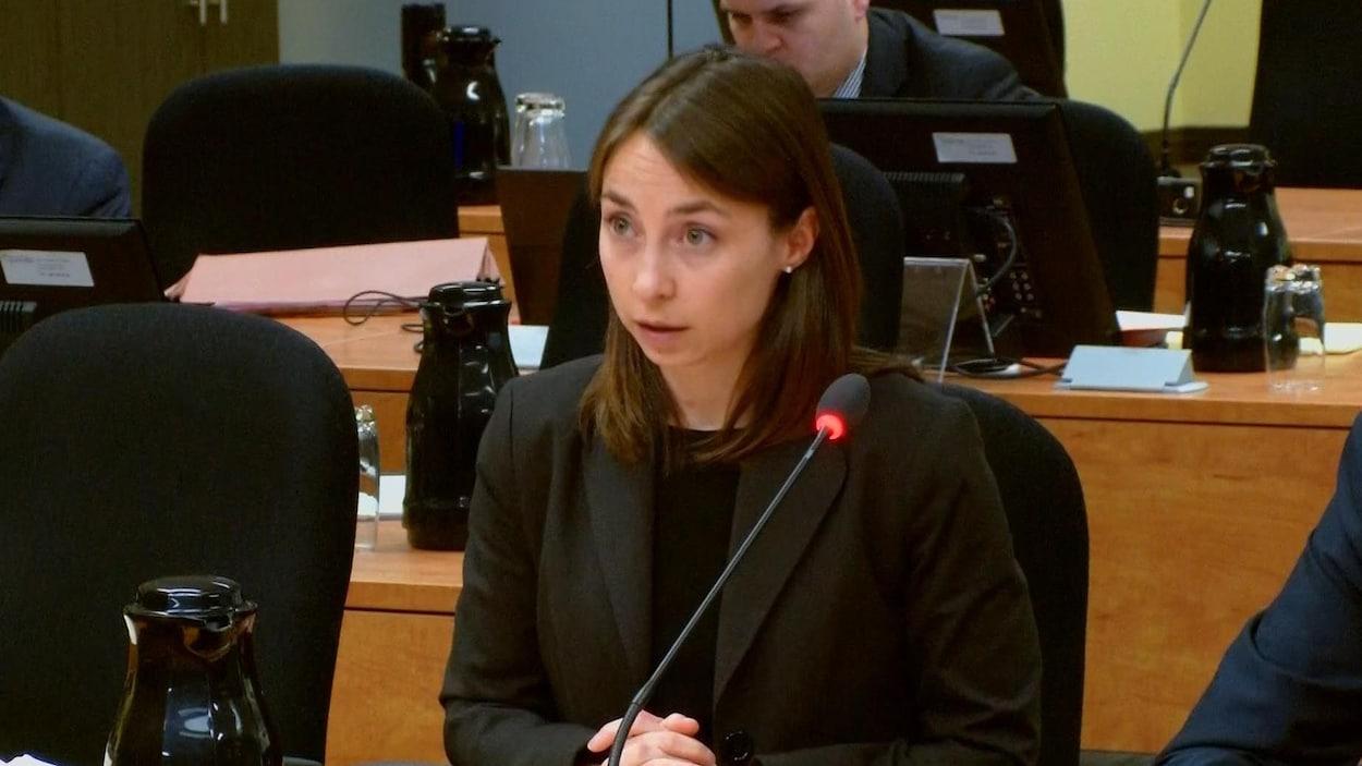 Catherine Armand de la Commission d'accès à l'information