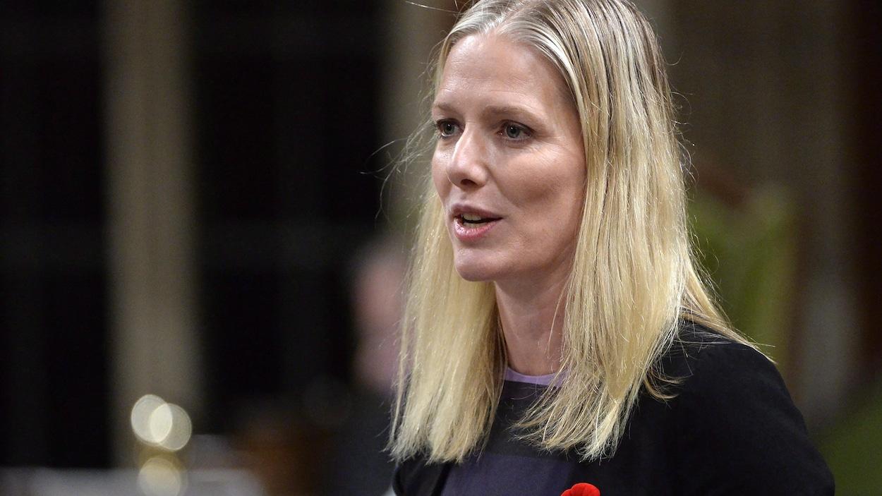 La ministre de l'Environnement Catherine McKenna