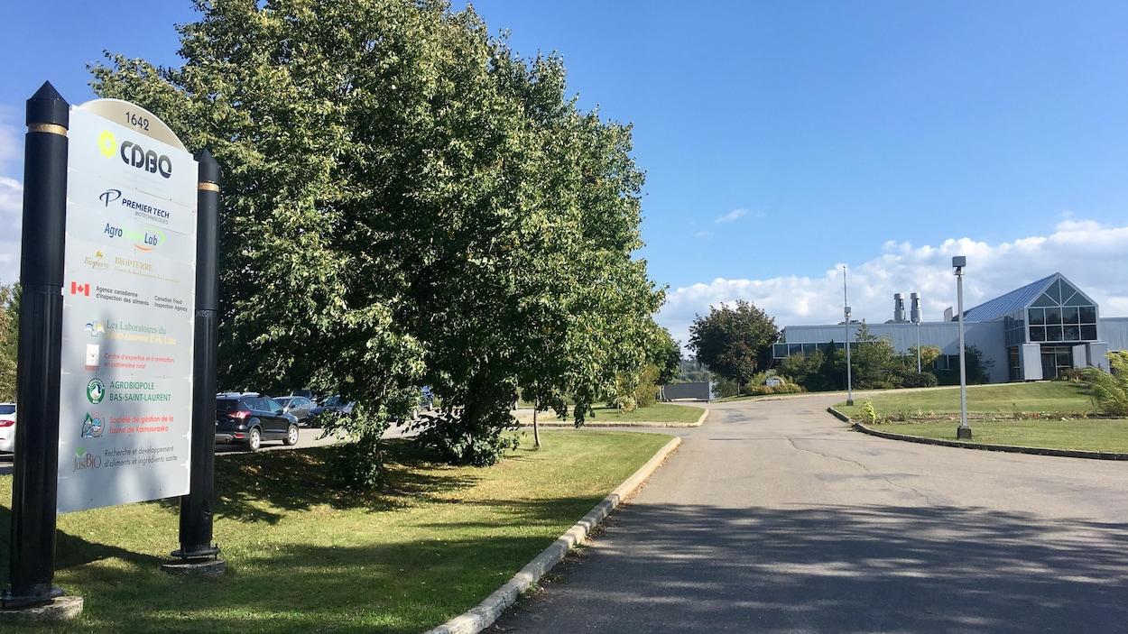 Le centre de développement bioalimentaire du Québec à La Pocatière.