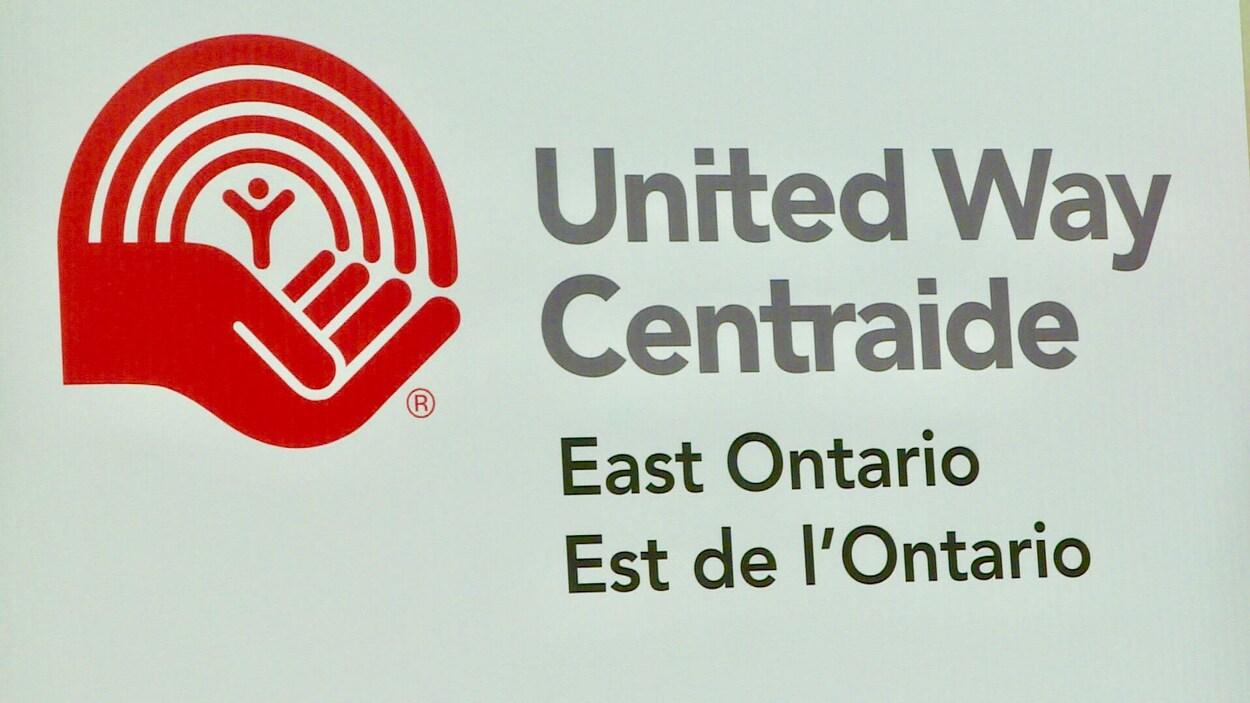 Le logo de Centraide de l'Est de l'Ontario.