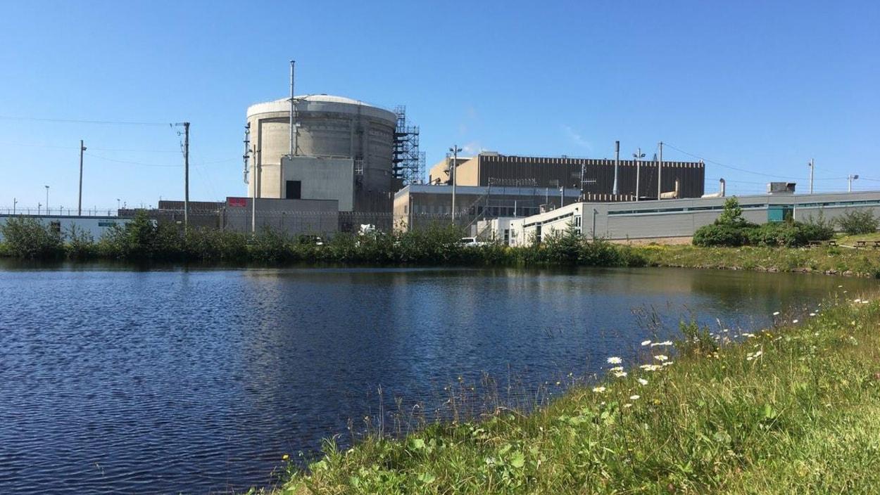 La centrale nucléaire de Point Lepreau.