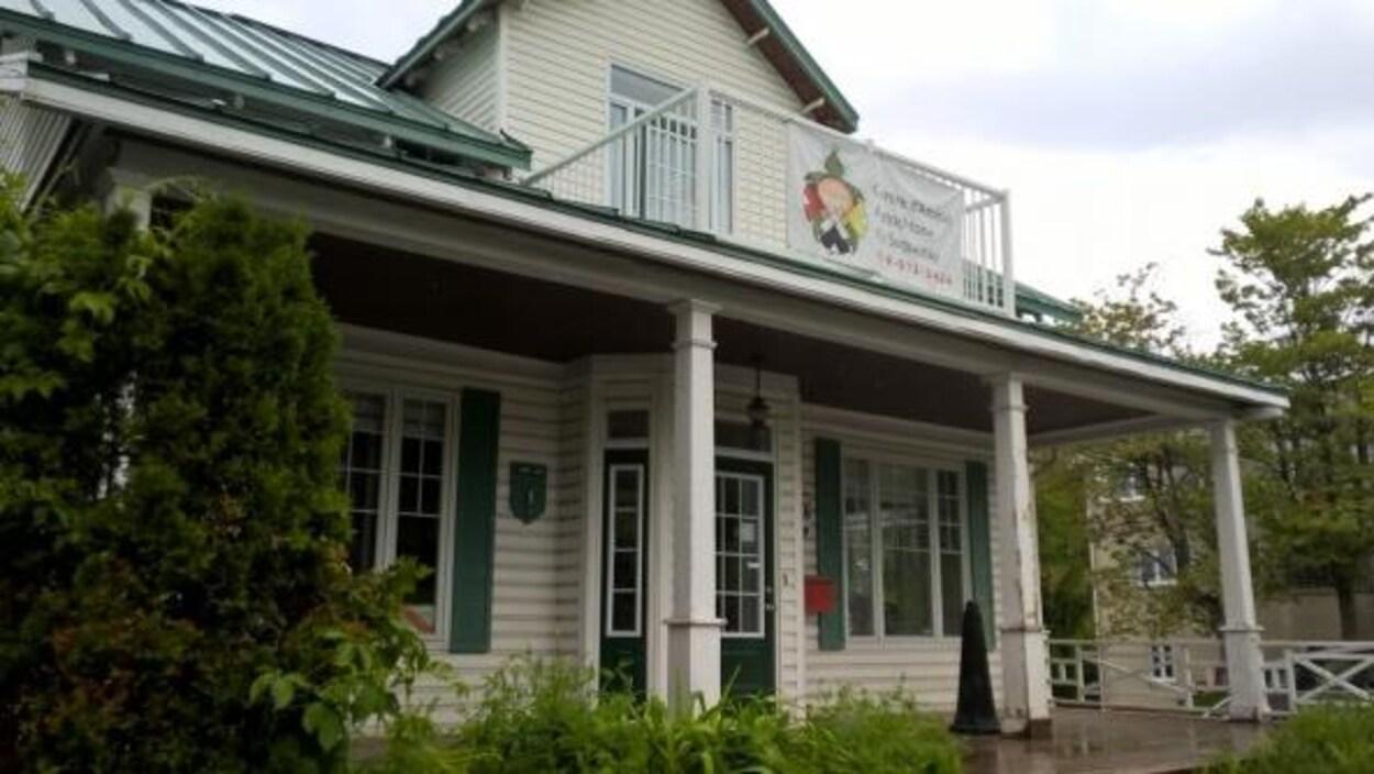 Le Centre d'amitié autochtone de Saguenay, situé sur la rue Jacques-Cartier.