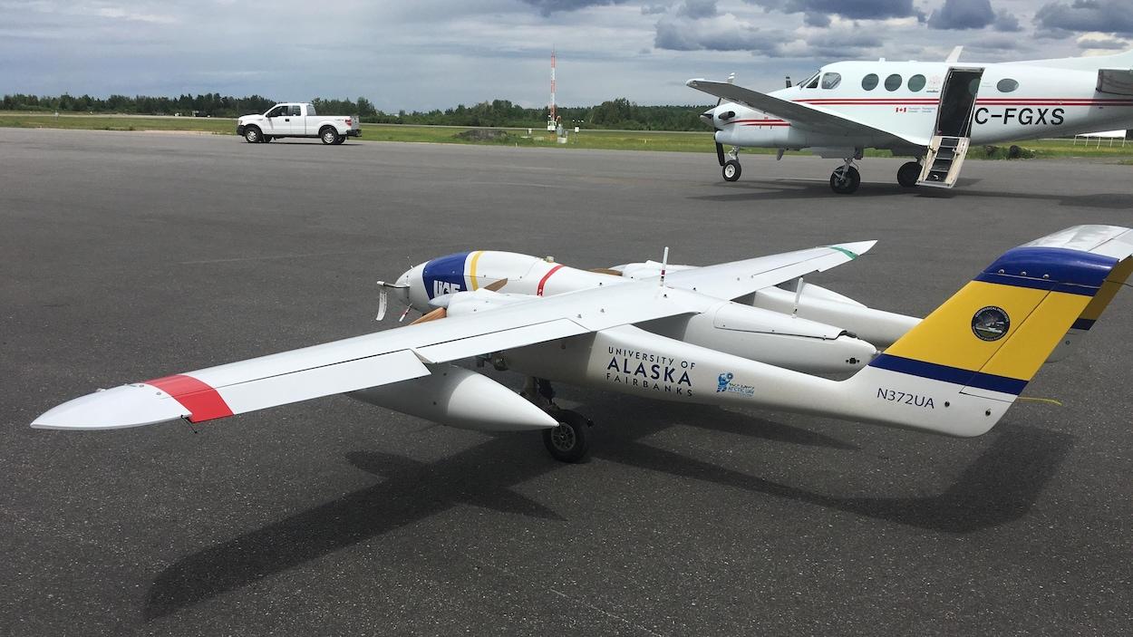 Un drone.