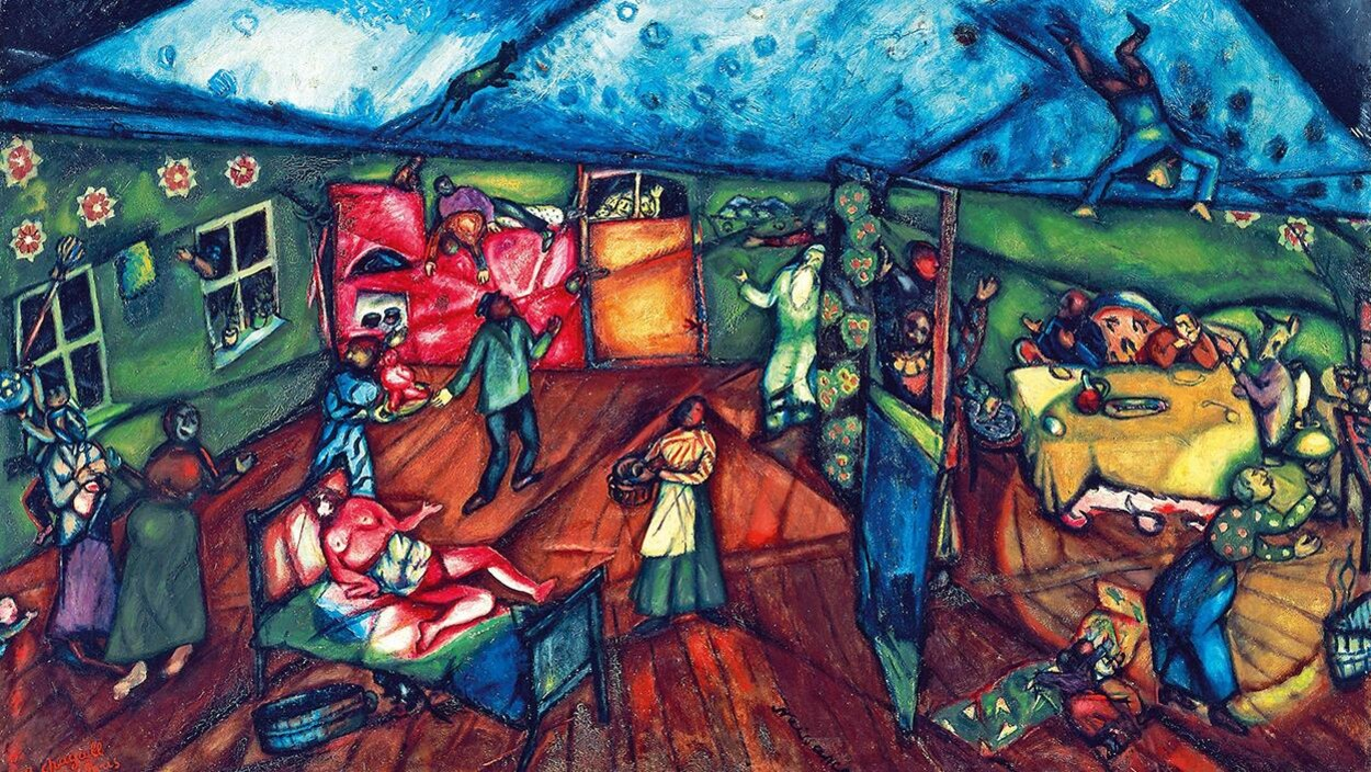 Marc Chagall, « La Naissance », 1911-1912