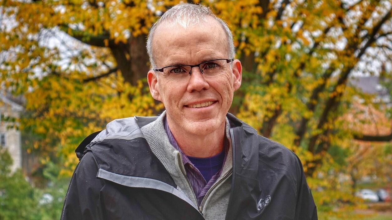 L'environnementaliste Bill McKibben à Middlebury, au Vermont.