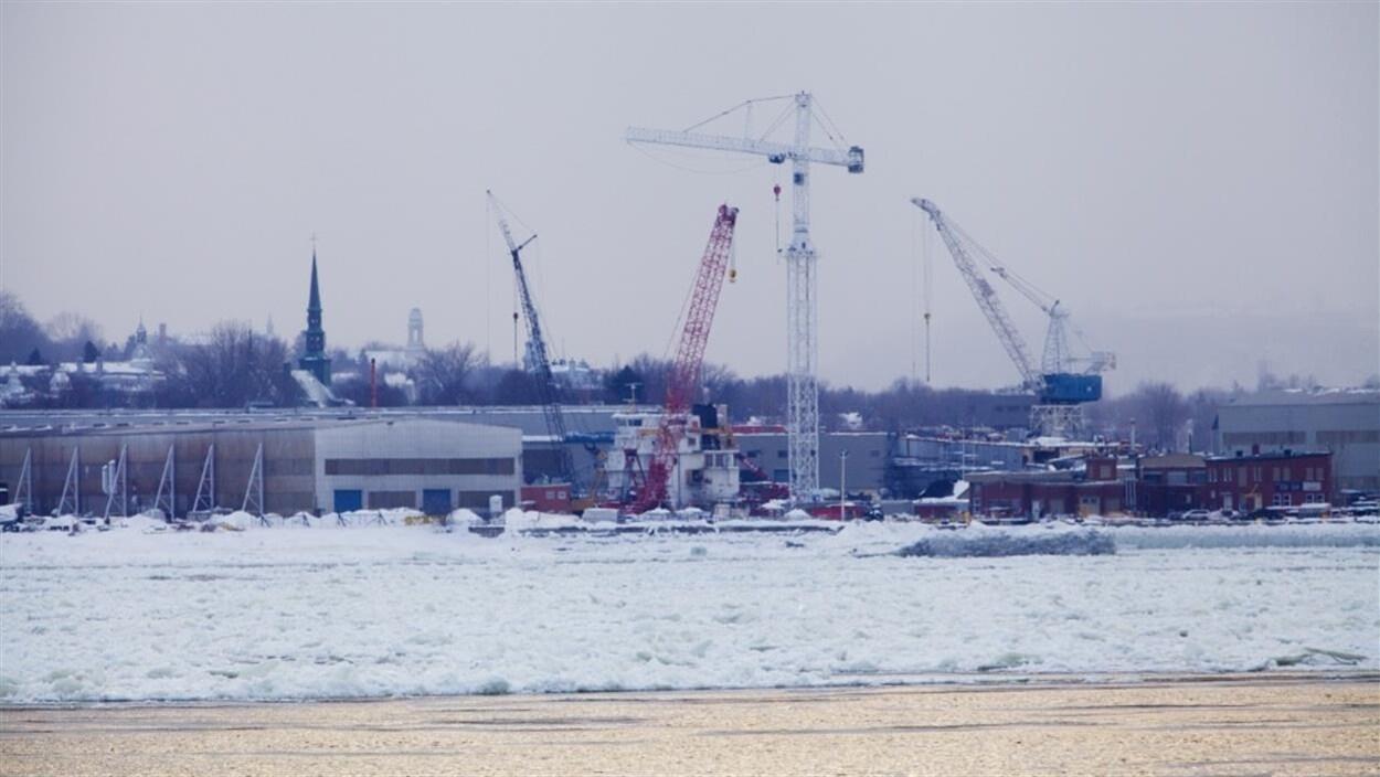 Le chantier naval Davie de Lévis