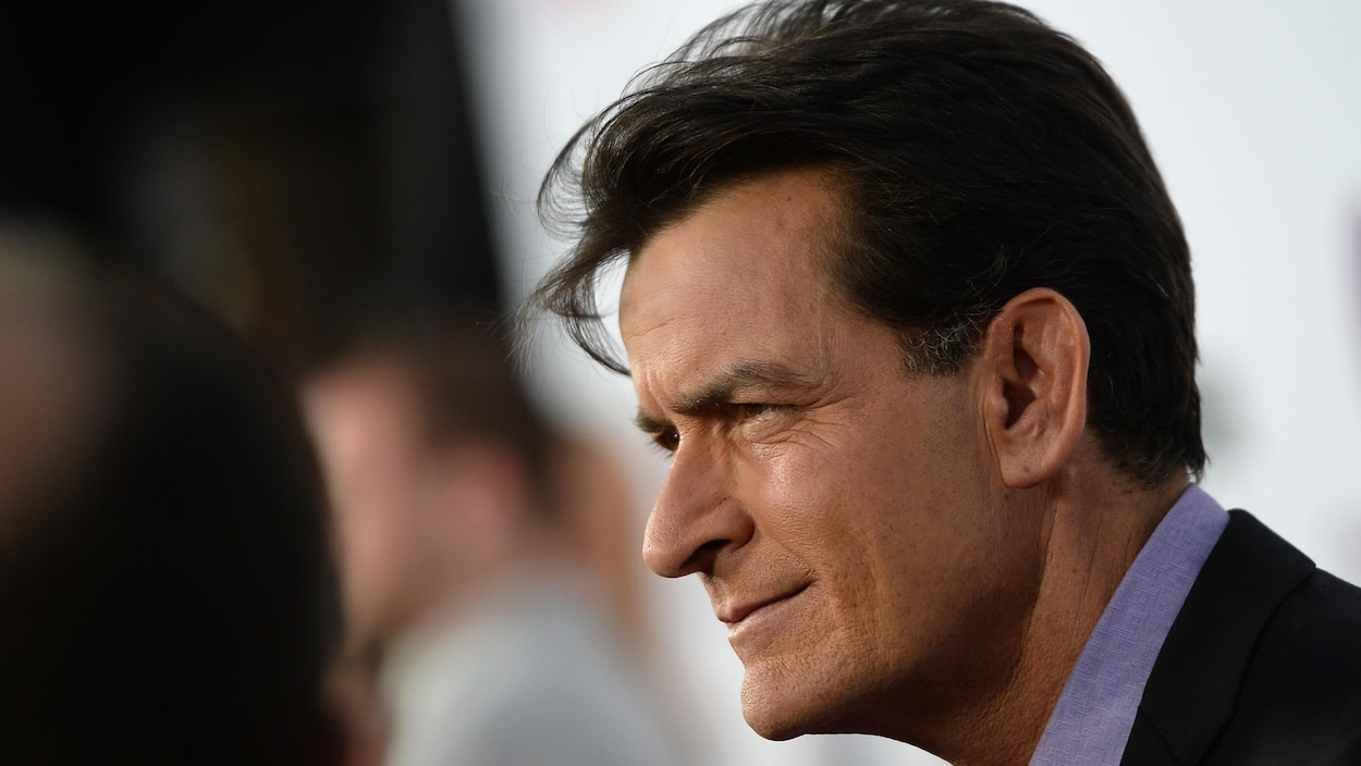 Charlie Sheen lors de la première du film Scary Movie 5 le 11 avril 2013 à Hollywood