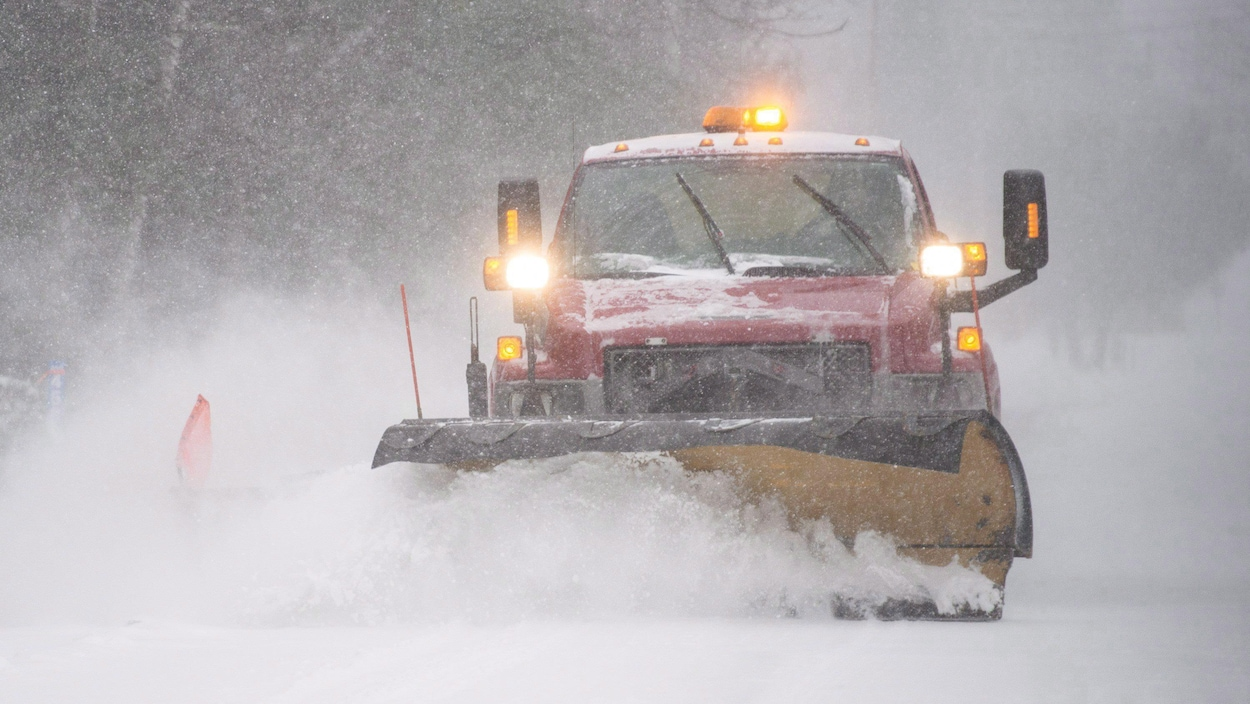 Un chasse neige